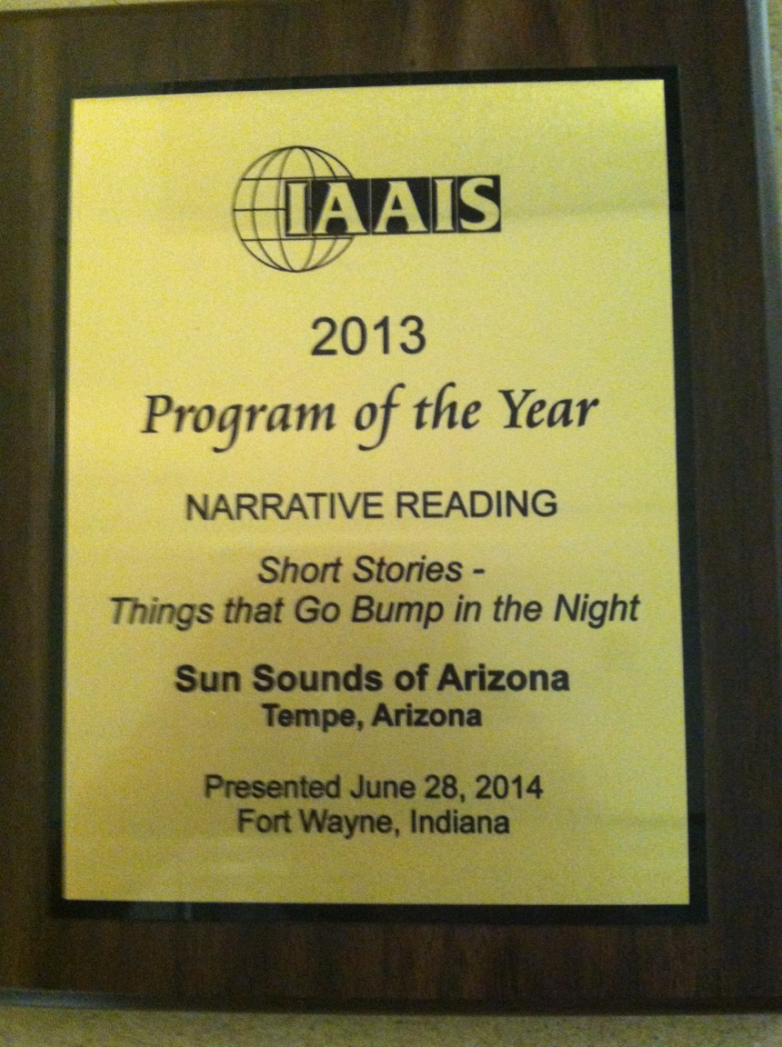 IAAIS AWARD PLAQUE